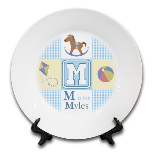 Personalised ABC Is For Babies Novelty Ceramic Plate